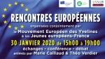 rencontres europeennes,mouvement européen yvelines,mouvement européen jeunes